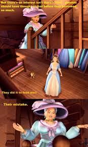 barbie princess pauper madam carp put