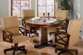 coaster mitchell oak 5 piece 3 in 1 game table set alkar