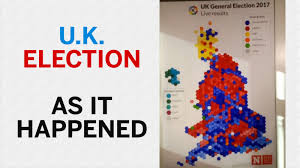 Uk Election Map by 650 Seats 10 Parties One Map Watch This Cool Time Lapse Video
