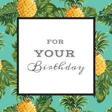 tropical trend free printable birthday card greetings island
