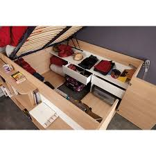 Parisot Space Up Bed Next Day Select Day Delivery - Parisot bunk bed