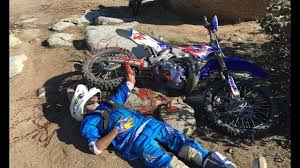 motocross bike images worst dirt bike crash ever helicopter rescue youtube