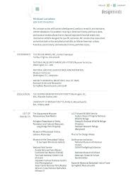 Environmental Technician Resume Sample by Museum Technician Resume Sample Http Resumesdesign Com Museum