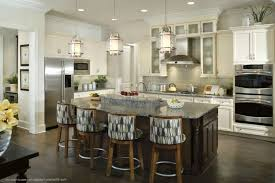 Kitchen Island Lighting Ideas Pictures Kitchen Lighting Seeded Glass Pendant Light Wrought Iron Kitchen