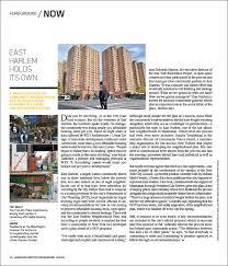 Landscape Architecture Magazine by East Harlem Holds Its Own Landscape Architecture Magazine A