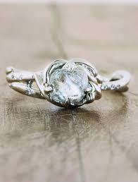 engagement rings unique best 25 unique diamond engagement rings ideas on