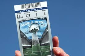 super bowl ticket prices average price slides modestly with more