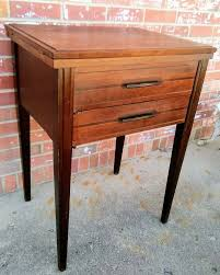 solid wood sewing machine cabinets vintage sewing machine cabinet only side table stand 22x17x30 ebay
