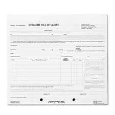 Bill Of Sale For A Car by Bill Of Lading Short Form By Rediform Red44302 Ontimesupplies Com