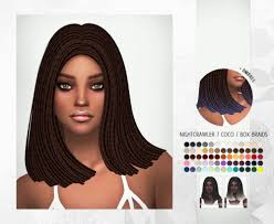 sims 4 hair cc spring4sims hair for females