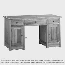 Oak Computer Desk With Hutch by Cairo Computer Desk In Natural Solid Oak Oak Furniture Land