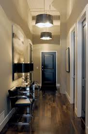 paint your interior doors black or dark chocolate brown it makes