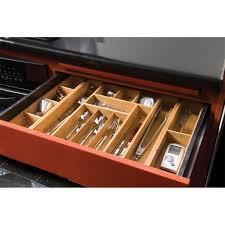 Seville Classics Office Desk Organizer by Seville Classics Expandable Bamboo Drawer Organizer W 2 Bonus Trays
