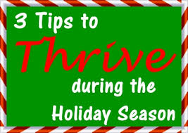 3 tips to thrive during the season