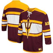 s colosseum maroon arizona state sun devils open net ii hockey