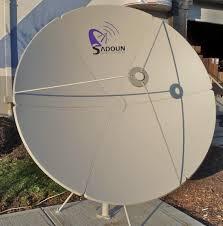sadoun heavy duty c band prime focus satellite dishes
