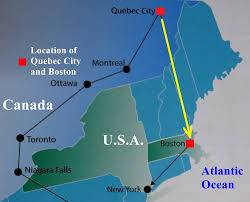New York And Boston Map by U S A And Canada East Coast Travel Part V Boston Travel Cities