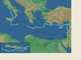 Map Of Mediterranean Countries Bible Maps Images And Charts Precept Austin