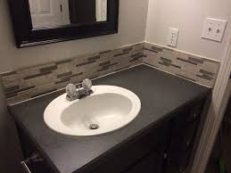 How To Paint A Vanity Top Best 25 Spray Paint Countertops Ideas On Pinterest Stone Spray