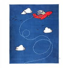 ikea flygtur area throw rug mat bue kids decor airplane