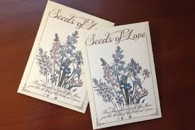 wedding seed packets diy seed packet wedding favors the budget savvy