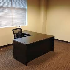 Large L Desk Cherryman L Desk Amber Series Nashville Office Furniture