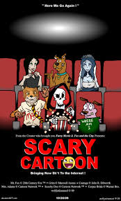 scary cartoon by wolfjedisamuel on deviantart