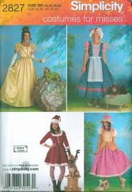 Simplicity Halloween Costumes Simplicity Halloween Costume Sewing Pattern Misses Men