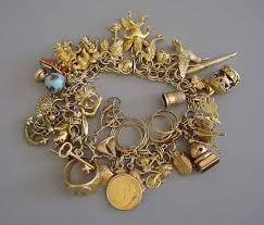 vintage gold bracelet charms images 638 best charm bracelets necklaces images charm jpg