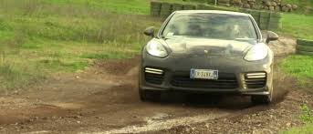 porsche rally car seeing a 100k porsche panamera turbo treated like a rally car is