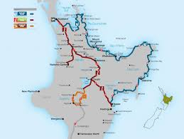 New Zealand On A World Map by Pacific Coast Highway Great New Zealand Touring Route