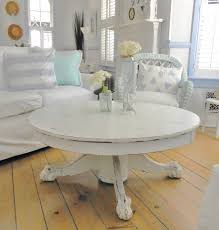 White Distressed Wood Coffee Table Best 25 White Round Coffee Table Ideas On Pinterest Round Oak