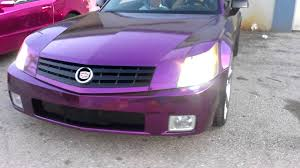 cadillac xlr colors color chrome wraps