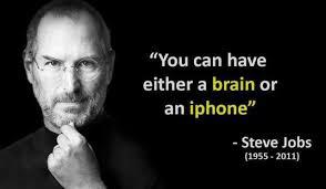 Steve Jobs Meme - dopl3r com memes you can have either a brain or an iphone
