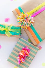 gift tissue 3 ways to wrap with tissue paper tell and party