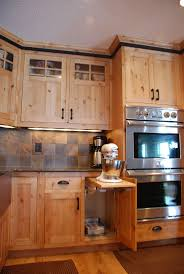 Kitchen Reface Cabinets Kitchen Refacing Cabinets In Brown With Oven Cabinet Also Tile