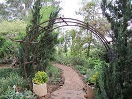 circular round bale feeder hay ring reimagined as a garden arch