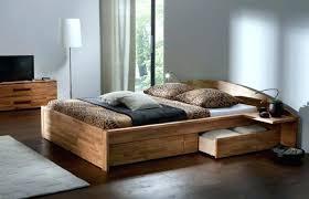 chambre adulte bois lit adulte bois avec tiroir chambre a coucher pas cher massif