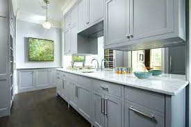 grey kitchen cabinets wood floor light grey kitchen cabinets exle of a mid sized classic single