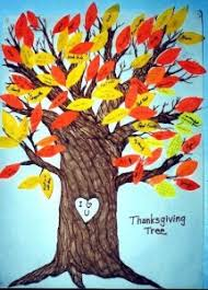 craft thanksgiving thankful tree hooked on the book