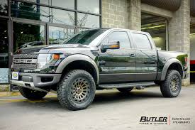 Ford Raptor Truck Black - ford raptor with 20in black rhino madness wheels exclusively from
