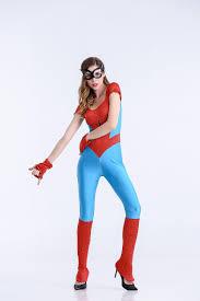 halloween costumes super heros aliexpress com buy spider bodysuit womens costume