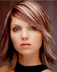 medium long hairstyle for thick hair long burgundy hairstyles