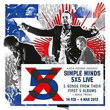 5x5 album 5x5 live album