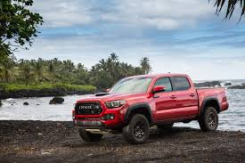 Trd Canada 2017 Toyota Tacoma Trd Pro First Drive Review Automobile Magazine