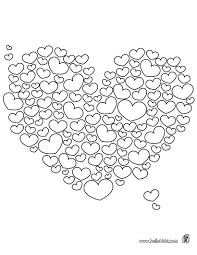 valentine hearts coloring pages free printable valentine coloring