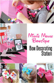 minnie mouse birthday party details and free printables