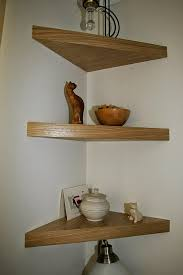innovation design wooden corner shelves stylish ideas best 25