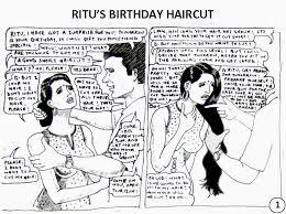 forced haircut stories head shaved indians ritu s birthday haircut comics