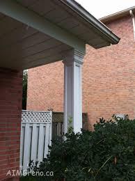 Home Exterior Decorative Accents Fiberglass Columns Decorative Accents Installation Replacement